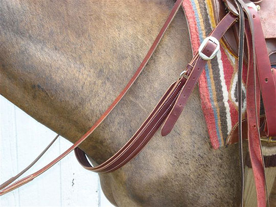 Jones Mule Saddle & Tack - Breast Collar