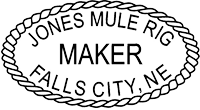Jones Mule Rig Maker, Falls City, NE