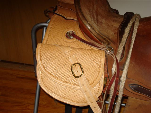 Jones Mule Saddle & Tack - Saddle Bags